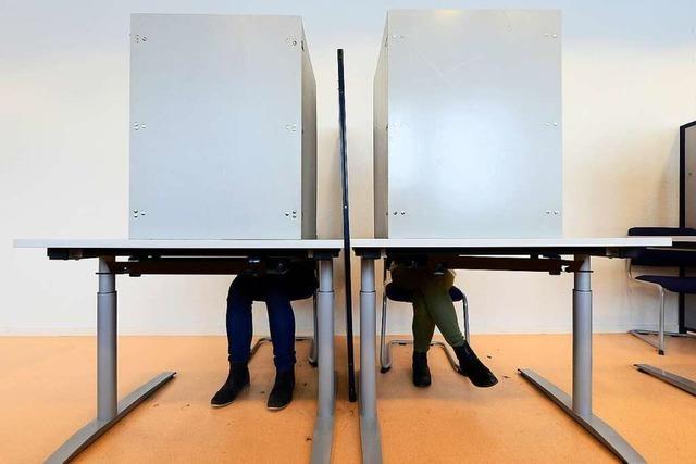 Ab sofort ist in Freiburg Briefwahl möglich