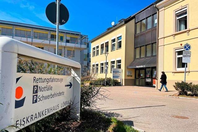 Lörracher Kreisklinikum ist Anfang September nur auf Umwegen erreichbar