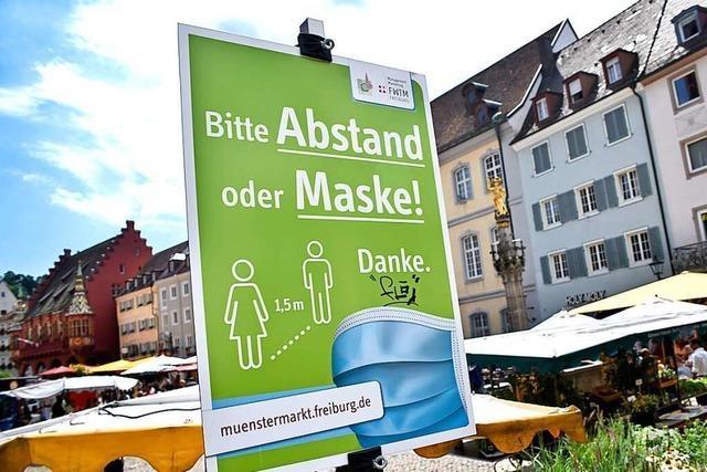 Freiburger Münstermarktleute verärgert über uneinheitliche Masken-Bußgelder