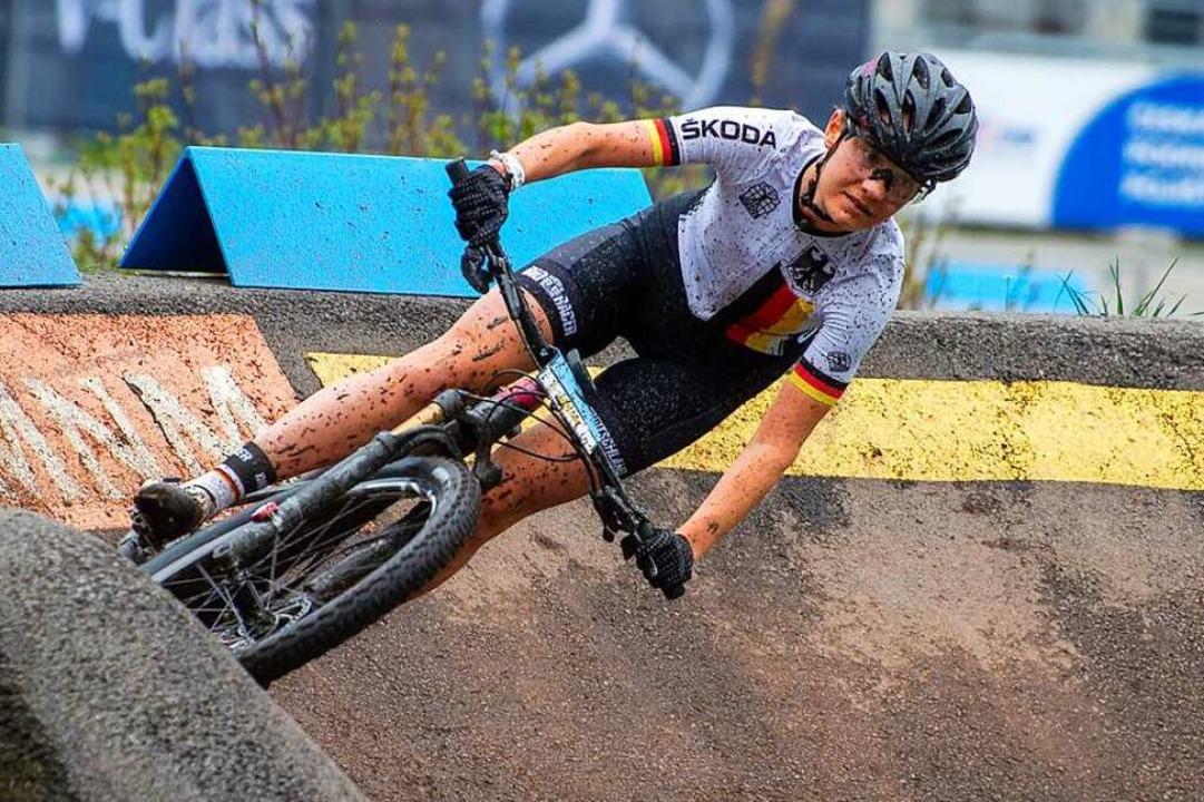 Bei der EM in Serbien beste deutsche J...up-Rennen im tschechischen Nove Mesto)  | Foto: Ralf Schäuble