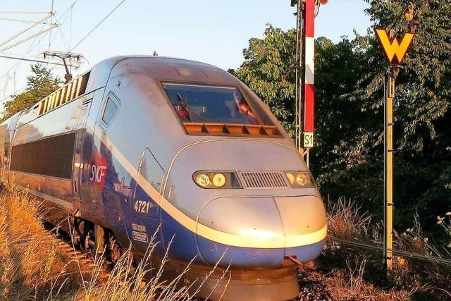Ab September hält der TGV nach Paris wieder im Lahrer Bahnhof