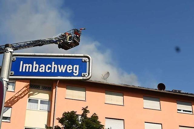 Es gibt keine Hinweise auf Brandstiftung im Lörracher Imbachweg