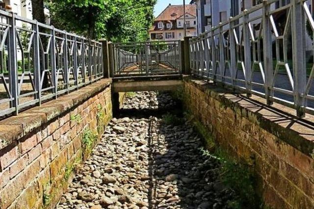 Unterschriftenaktion für den Erhalt des Schopfheimer Bifig-Kanals