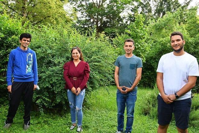 Vier Flüchtlinge erzählen von ihrem Leben in Breisach