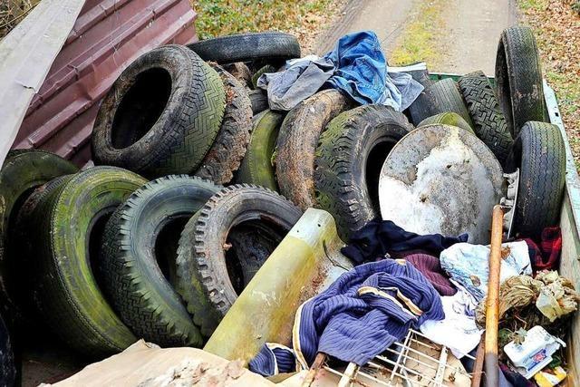 Massen an Menschen bedeutet Massen an Müll