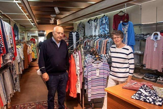 Das Modehaus Vollmer in Badenweiler schließt nach 74 Jahren