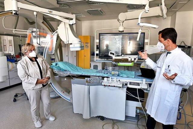 Was den Herzkatheter-Roboter der Uniklinik Freiburg besonders macht