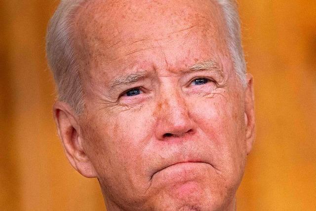 US-Präsident Biden verteidigt Truppenabzug aus Afghanistan