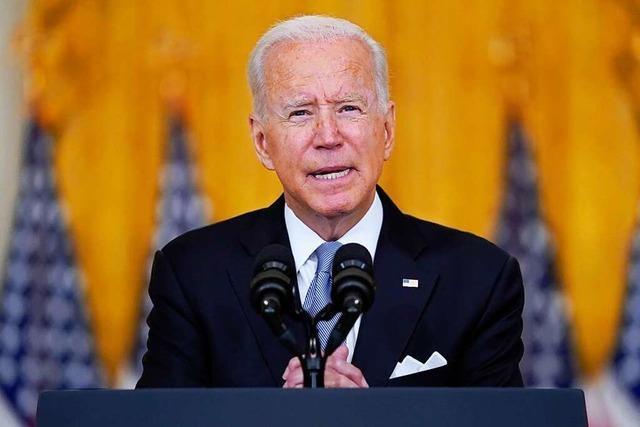 Joe Biden stiehlt sich aus der Verantwortung