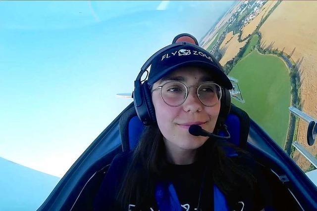 Eine 19-Jährige will in drei Monaten um die Welt fliegen