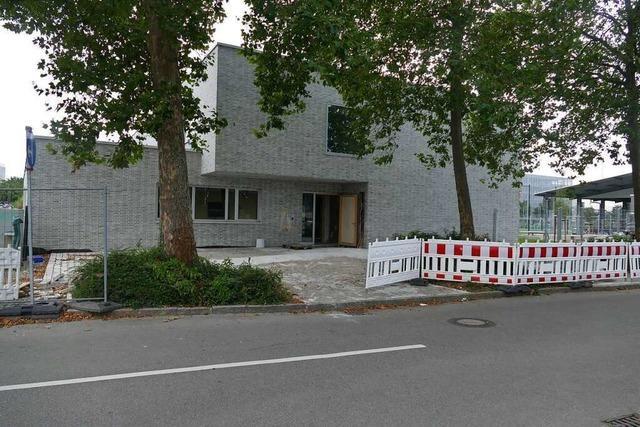 Bald kann das neue Jugendzentrum Juno II in Weil-Friedlingen bezogen werden