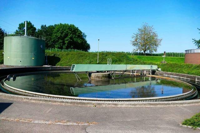 Sieben Millionen Liter Wasser durchlaufen pro Tag die Kläranlage in Rheinfelden