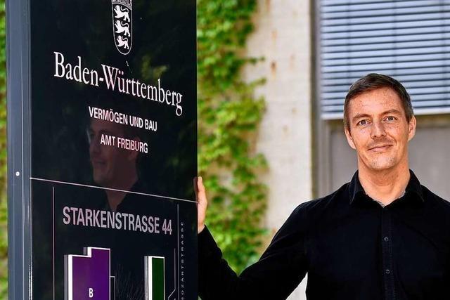 Dieser Mann koordiniert Freiburgs Großbaustellen