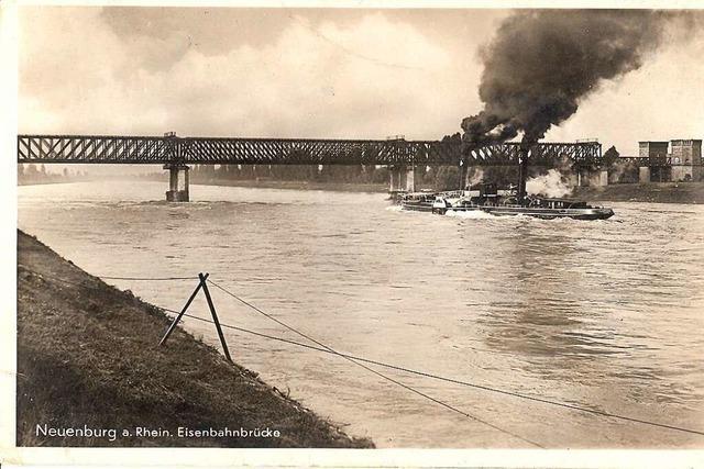 Die Stadt Neuenburg ändert sich mit dem Rhein