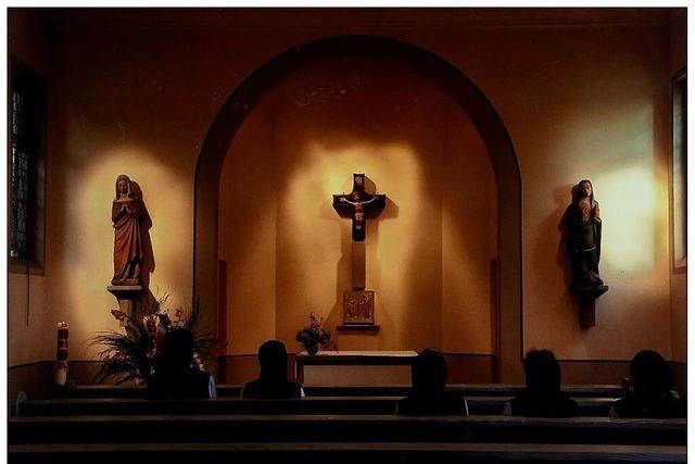 Die Wallfahrtskapelle zum Heiligen Kreuz ist seit 600 Jahren Pilgerziel