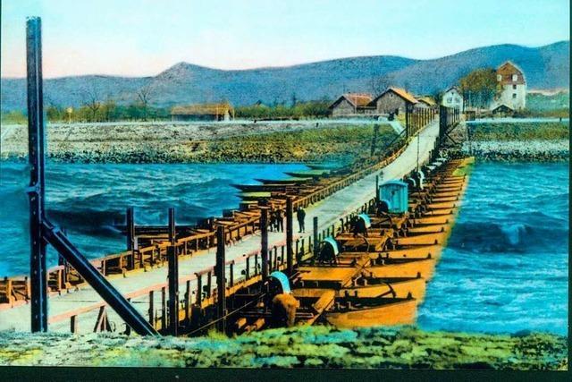 Bei einem tragischen Bootsunglück auf dem Rhein bei Neuenburg starb 1927 ein junger Grieche