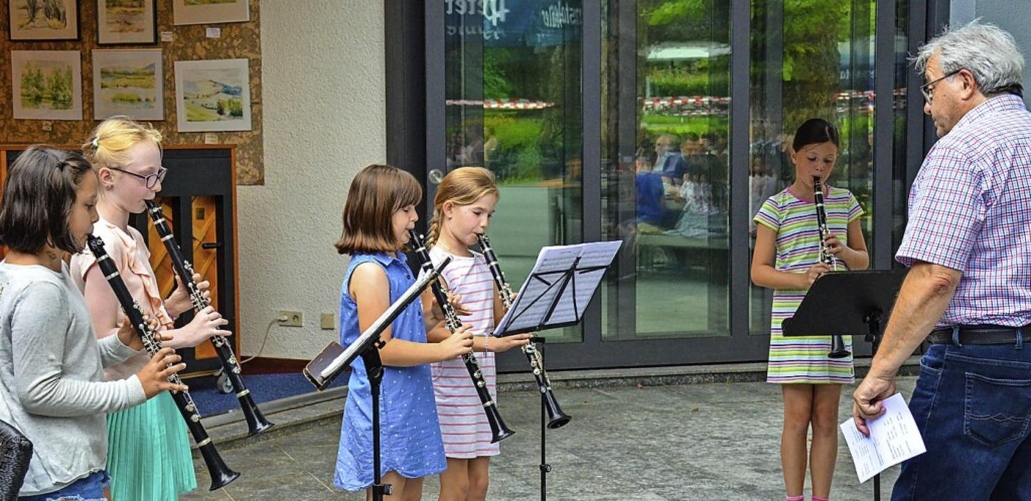 <BZ-FotoAnlauf>Jugendmusikschule Südli...isgau:</BZ-FotoAnlauf>  Konzertfreuden    Foto: Gabriele Hennicke