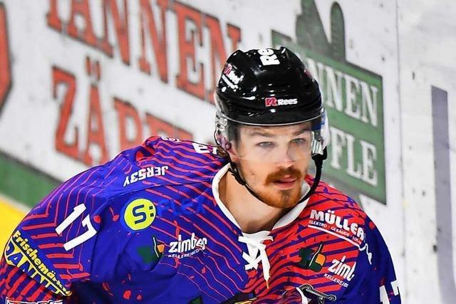 Jake Ustorf wechselt vom EHC Freiburg zu den Nürnberg Ice Tigers