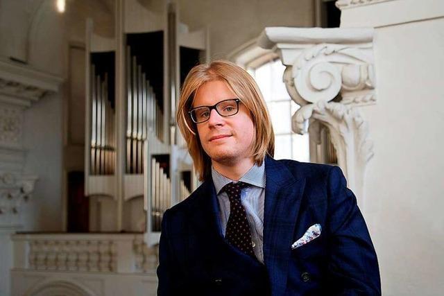 Junger Meister: Stéphane Mottoul an den Freiburger Münsterorgeln