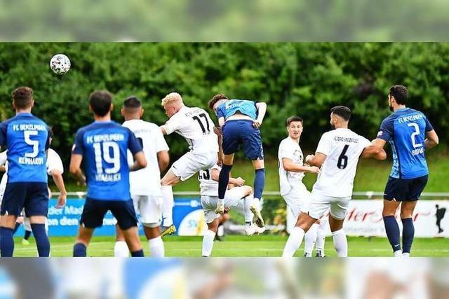 Tim Lettgen erlöst den Favoriten FC Denzlingen in den Schlussminuten