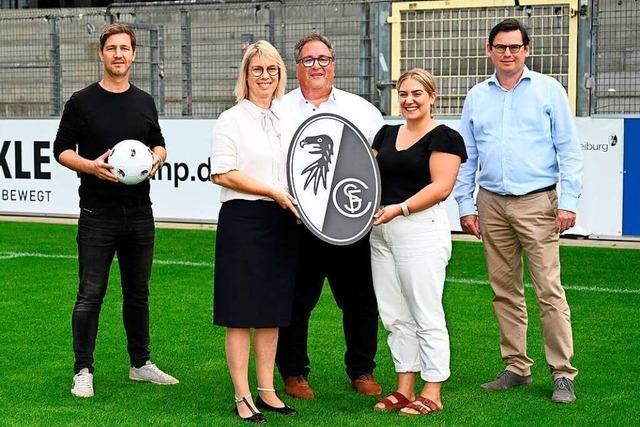 Die Freiburger Fußballschule hat einen neuen Hauptsponsor