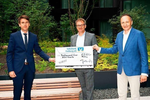 Volksbank-Spende ermöglicht klimaneutrales Konzert