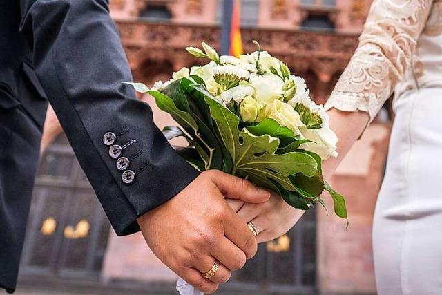 In Weil am Rhein heiraten wieder mehr Paare