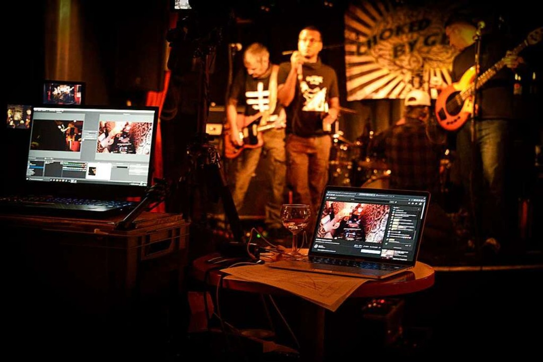 Das publikumsfreie Konzert im Slow Club  | Foto: Slowclub Freiburg