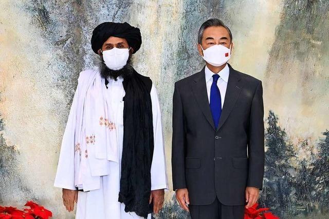 Warum China dem Taliban-Regime den roten Teppich ausrollt