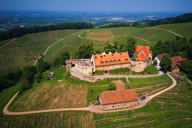 Schloss Staufenberg in Durbach war einst eine Burg