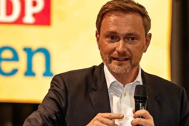 Lörrach ist für FDP-Chef Christian Lindner ein Heimspiel