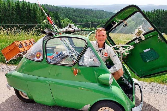 Beim Isetta-Jahrestreffen in Hinterzarten werden 150 Knutschkugeln erwartet