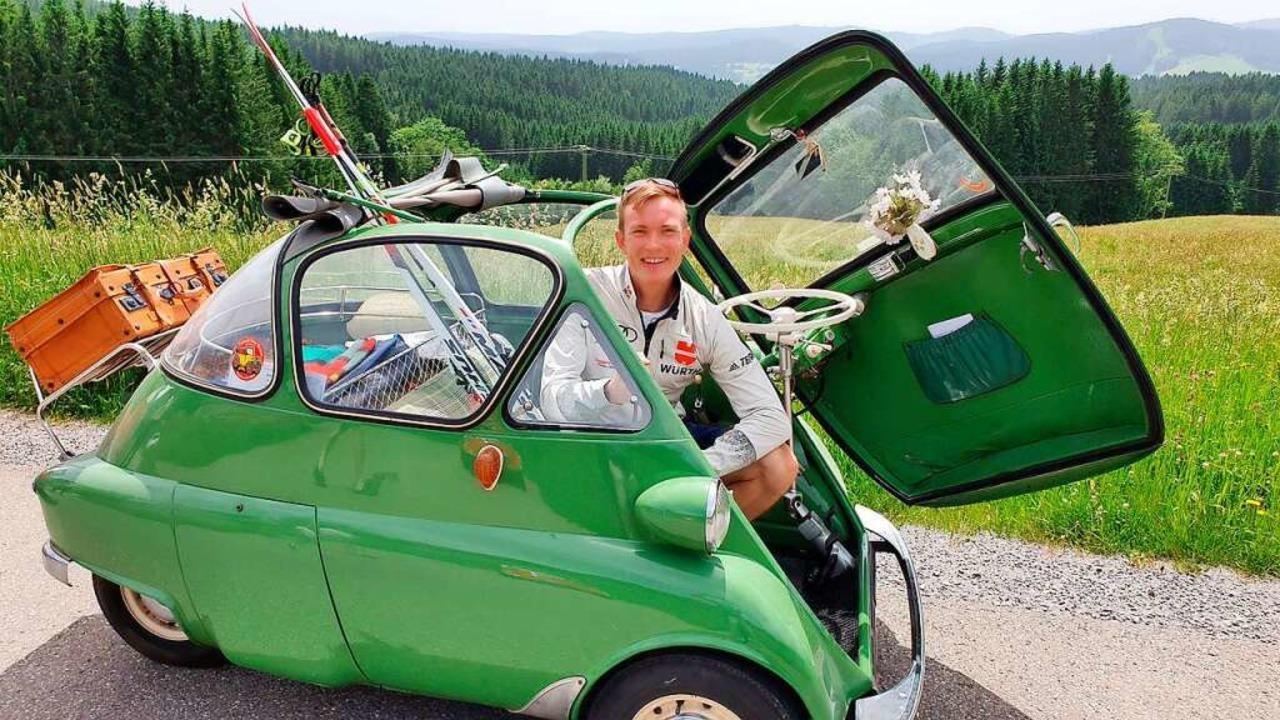 Benedikt Doll ist Schirmherr des Isetta-Treffens in Hinterzarten.    Foto: Dieter Maurer