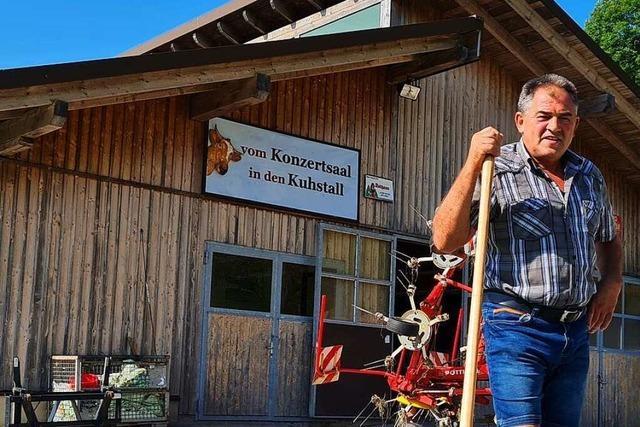 Dieser Mann wuchs auf einem Hof in Käsern auf – und lebt dort noch immer gerne