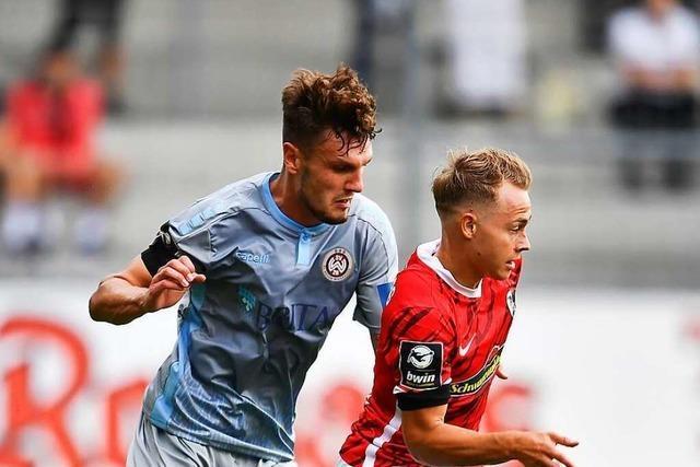 Julius Tauriainen will beim SC Freiburg Erstliga-Profi werden