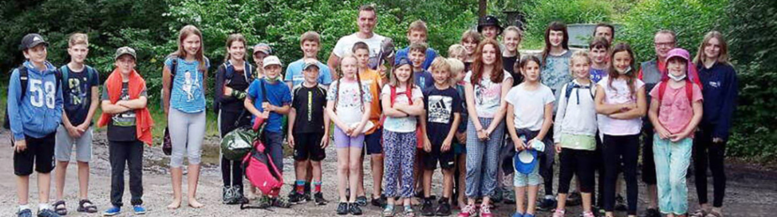 <BZ-FotoAnlauf>Friesenheim: </BZ-FotoA...te. Insgesamt nahmen  30 Kinder teil.     Foto: Gemeinde