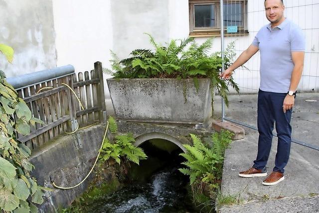 Konzept gegen Überschwemmung