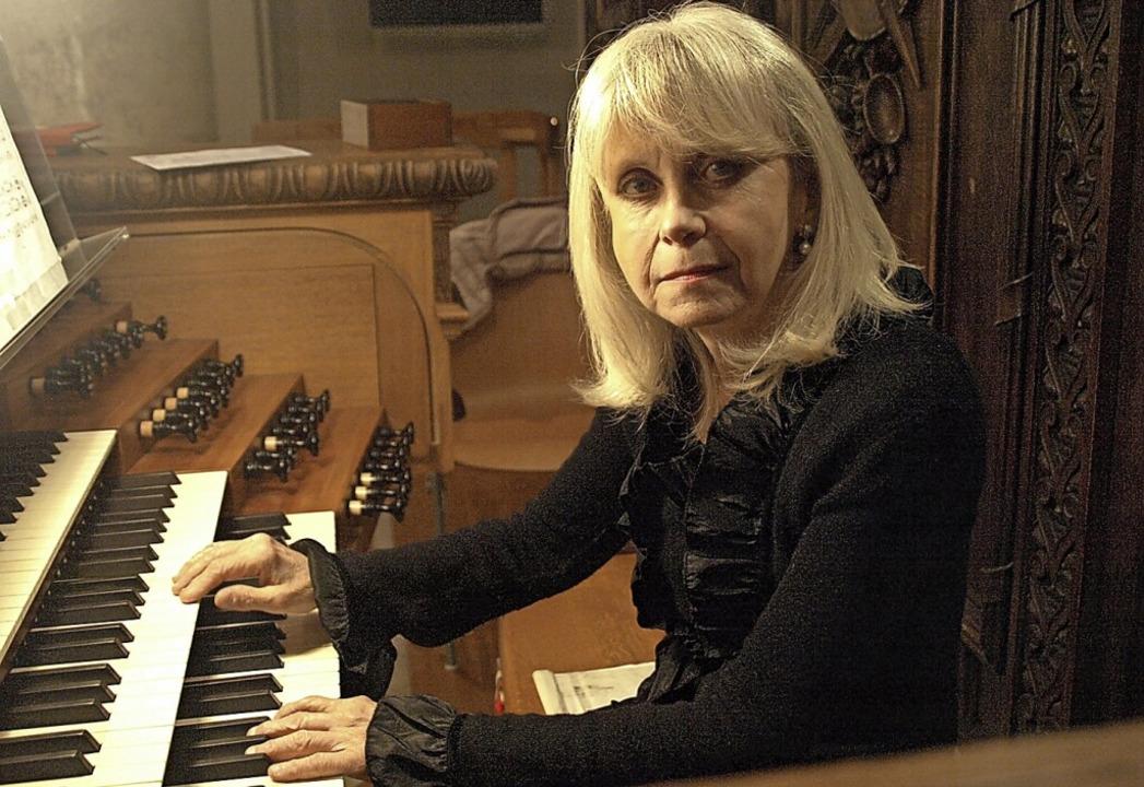 Das sechste Orgelkonzert dieser Saison...nistin Letizia Romiti aus Alessandria.  | Foto: Karin Stöckl-Steinebrunner