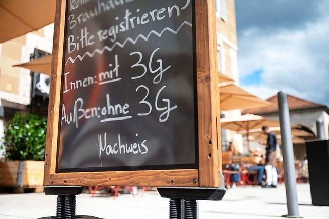 3G-Regel dämpft die Hoffnungen von Gastwirten rund um Efringen-Kirchen