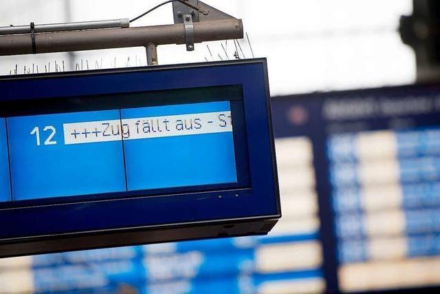 GDL ruft zu Streik im Bahnverkehr von Samstag bis Mittwoch auf