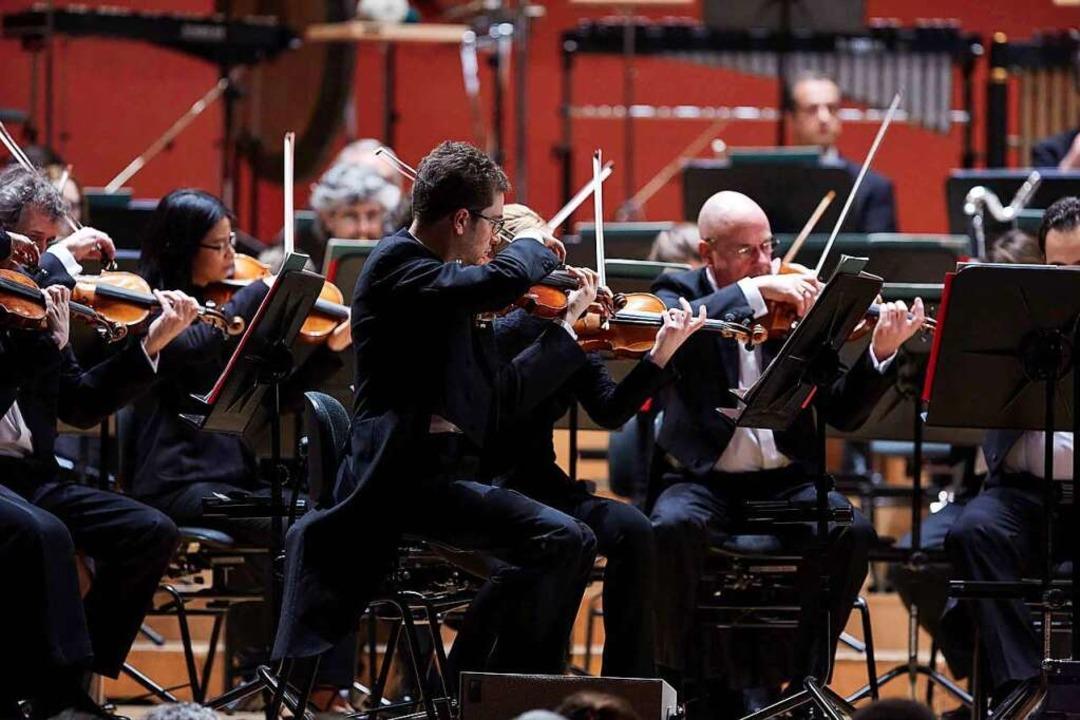 Konzert mit dem Sinfonieorchester  | Foto: Benno Hunziker