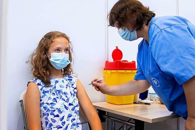 Sonderaktionen für 12- bis 15-Jährige im Offenburger Impfzentrum