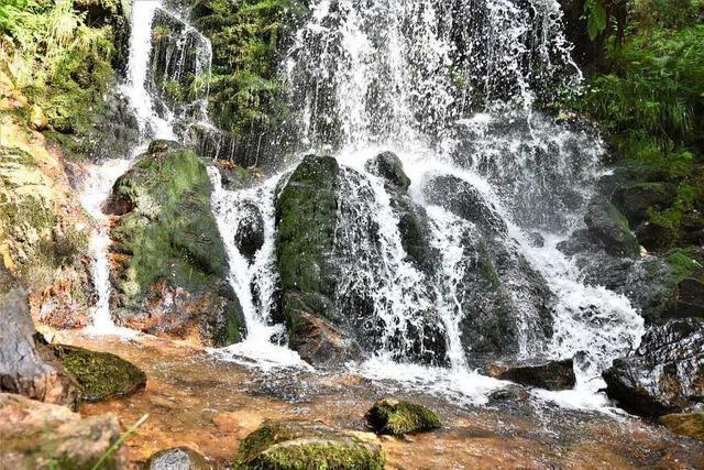 Hangrutsch beim Todtnauer Wasserfall wurde schnell gesichert