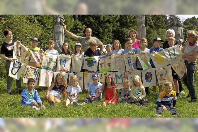 23 Kinder erkunden in und um Oberhof die Natur