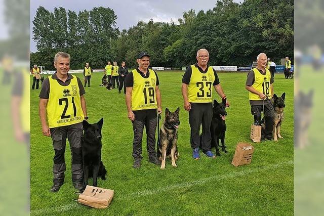 Münstertäler Hundesportler erfolgreich