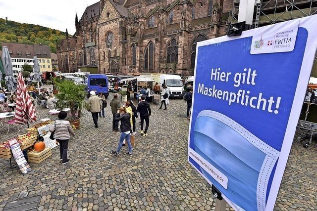 Freiburg führt Maskenpflicht für Münstermarkt und alle Wochenmärkte ein