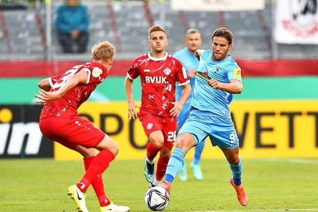 Lucas Höler will im Heimspiel gegen den BVB wieder treffen
