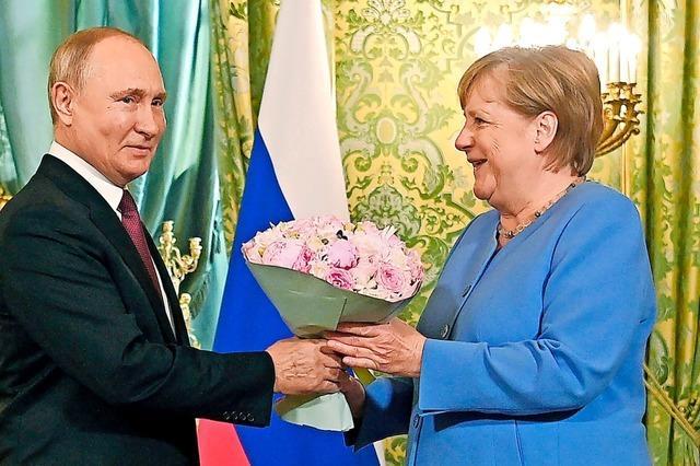 Merkel wohl zum letzten Mal bei Putin