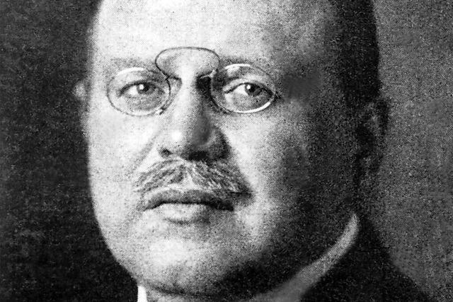 Der vor 100 Jahren ermordete Matthias Erzberger kann noch heute als Vorbild dienen