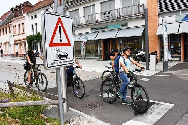 Die Basler Straße Nord in Lörrach wird für vier Tage gesperrt